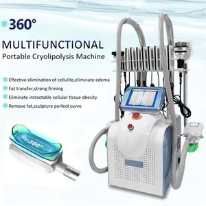super Cryolipolysis cavitation machine body slimming RF Laser beauty equipment cool shaping cryo machine 3 handles cryo handlles