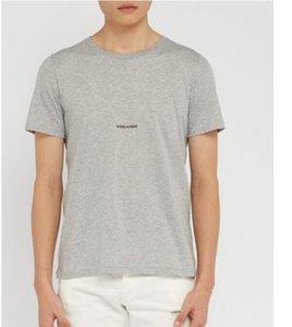 01Brands sport Hip Hop Designs winter mens t-shirt Short Sleeve Cotton Designers mens women t shirts tops GgYSL