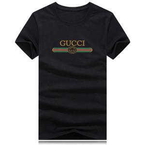 2020 Sommer-Designer-T-Shirts für Männer Tops Brief Gedrucktes T-Shirt der Männer Kleidung Marken-Kurzschluss-Hülsen-Shirt-T-lässiges GUCCI-T-Shirt