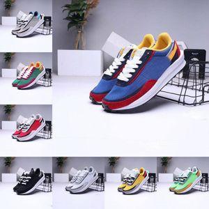 2020 LDV Waffle Chaussures de course à bas prix Hommes Femmes Triple Noir Blanc Nylon Gusto Varsity Bleu Outdoor Femmes Sport Chaussures Taille 36-45