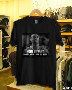 Trágica muerte camiseta de nuevo el mundo reacciona a Bryant XL Otras Sz chárleme moda de verano Imprimir camisetas divertidas
