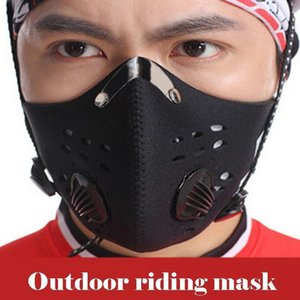 Mountain 3 Colors Sports Outdoor Bike Riding Face Mask Activated Charcoal Reusable Mask PM2.5 Anti-Fog Haze Warm And Dustproof