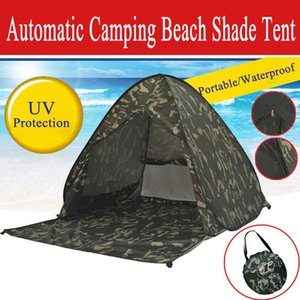 Beach Tent UV Protecting Automatic Open Fold Portable Up Tent Camping Outdoor Fishing Hiking Picnic Awning Tents Tienda Tour
