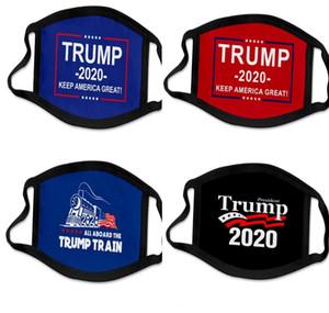 DHL 33 types Impression 3D Trump 2020 Masque coupe-vent Coton enfants Bouche Masques adulte américaine Élection États-Unis Masque Masque Noir