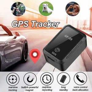 GF09 Mini Car APP GPS Locator Adsorção Gravação Anti de cair o dispositivo de voz Controle de gravação em tempo real de rastreamento para o carro criança 9Vpz #