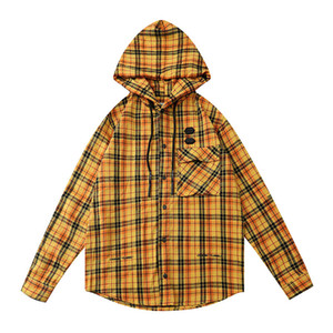 The latest long-sleeved hoodie for men and women is casual and cool. Plain coloured plaid fashion sweatshirt for men and women is fashionabl