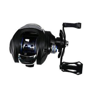 Baitcasting Pesca Reel 4 + 1 rolamentos de esferas Isca Fundição Spinning Reel 13kg Max Arraste Power Bass Carpa Equipamentos de pesca