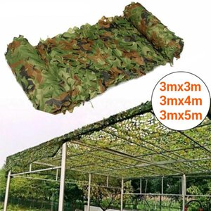 Tents And Shelters 3mx3m 3mx4m 3mx5m Hunting Camouflage Nets Fishing Shelter Hide Netting Woodland Camping Sun