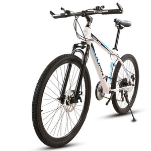 Mountain Bike 26 Inch Variable Speed Road Absorption Double Disc Brakes Student Men and Women Bicycle