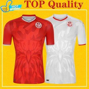 تونس 2021 الصفحة الرئيسية بعيدا جيرسي مايوه تونس قميص كيت كرة القدم جيرسي مايوه دي القدم 20 21 المنتخب الوطني لكرة القدم