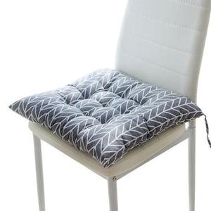 2pcs sedile Chiar Cuscino stampato Ufficio Bar Chair Back Seat cuscini del divano cuscino ammortizzatore della sedia Glutei Home Office Decor