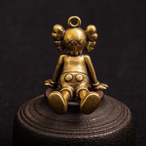 New kaws * Sesame Street dreidimensionale Puppe Schlüsselanhänger Gezeiten Marken heftige Bären Zubehör Geschenk