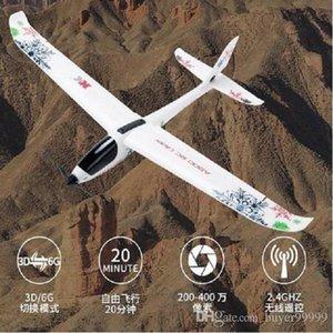 El modelo A800 Avión RC RTR 5CH 3D 6G modo 780mm Envergadura Fly aviones Ala fija avión RC Niños de Navidad regalo de cumpleaños