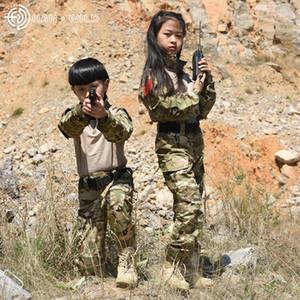 desgaste de manga comprida terno especial cpcamouflage GfnrM Hanye G3 infantil para sapo roupas infantis roupas sapo clothesces terno treinamento para