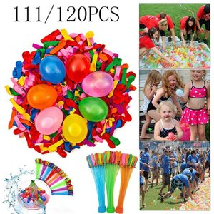 111Pcs Water Balloons Outdoor Game Pool Party Water Bombs Fast Fill Kids Fun Toy