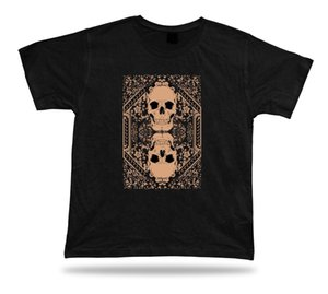 T Shirt Tee Shirt Birthday Gift Idea Joker Card Skull Mirror Deck Death Tarot Short Sleeve Cotton T Shirts Top Tee Plus Size