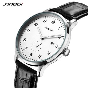 SINOBI Fashion Men's Wristwatches Males 30M Waterproof Geneva Quartz Clock Luminous Hands relogio masculino