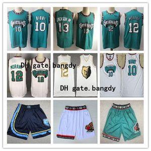 2020 Mens MemphisnbaGrizzlies Ja 12 Morant Città del pullover di pallacanestro Pantaloncini Vintage Vancouver Shareef Abdur-Rahim Reeves 50 Camicie