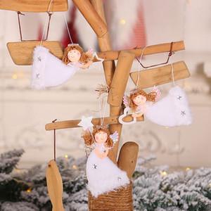 Christmas Pendant Angel Design Xmas Tree Hanging Decorative Ornament Holiday Party Decorations Supplies Produtos De Natal
