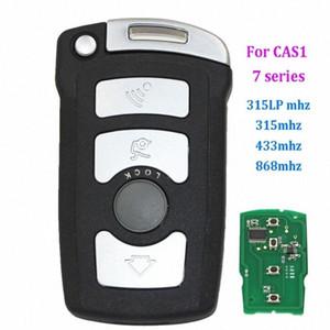 4 botões CHEIA chave remota Fob 315LP MHZ 868MHz 315MHz 433MHz para BM W Série 7 E65 E66 COM CHIP ID7944 / ID46 CAS1 HU92 SEM CORTES 7lMe #
