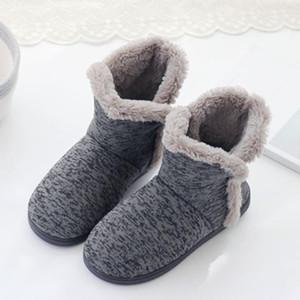 Winter warm Models Startseite Pantoffel Männer Schuhe der neuen Ankunft weiche warme Winter Home Boots Thick Cotton Schuhe Größe Non-Slip Pantoffel