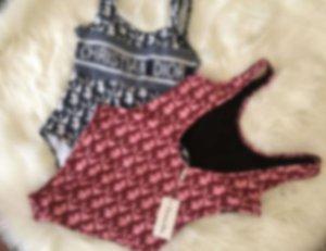 El lujo atractivo del bikini diseñador de las mujeres Trajes de baño Bikini Mujeres Trajes Marca Conjuntos de dos piezas traje de baño de l 2022108V Hotsale a estrenar atan para arriba Quility