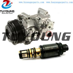 Válvula de control de alta calidad Denso 7SBH17C 6SBU16 compresor de aire se ajusta Lexus RX350 10-14 Toyota Camry Highlander 12V