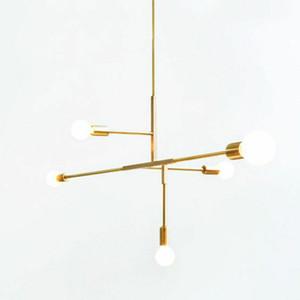 5 Globes a sospensione Lampada moderna Industial Loft luce di soffitto soggiorno sala da pranzo camera da letto Accanto Fixture Chandelier PA0351