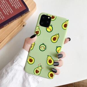 2020 Matte Phone Cases pour iPhone 11 6 6S 8Plus X XR 7Plus XS Max mignon drôle d'avocat Dinosaur silicone souple bonbons Case Capa Coqua