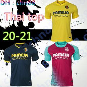 20 21 Villarreal CF maglie di calcio 2020 2021 Casa Paco Alcacer bacca FORNALS camicia di calcio Anguissa Ekambi IBORRA Alberto M da football