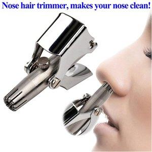 Нос волос триммер уха Портативный вибрисс Бритва Руководство Rhinothrix Cutter Nariz Носовые бритвы Моющийся HT траги Ножницы