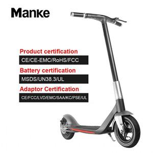 حار MK006 سكوتر الكهربائية 350W 36V 10inch لطوي سكوتر 2 العجلات الحمولة القصوى 150KG صور الصلبة للبالغين الرقمية لوحة الذكية APP