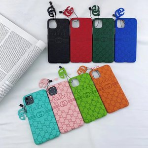 For iphone 11 11pro max 7 8 plus X XR Xs Max Phone Cases Embossed Leather Top Quality Newest Fashion Phone Cover
