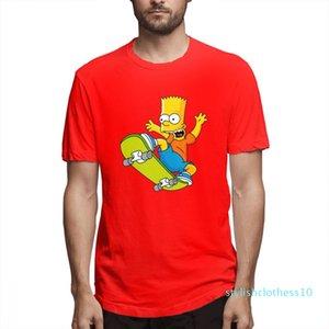 Verão Tops O Designer Simpsons Moda camisas camisas das mulheres dos homens de mangas curtas shirt O c3111s10 Simpsons Impresso camisetas Causal