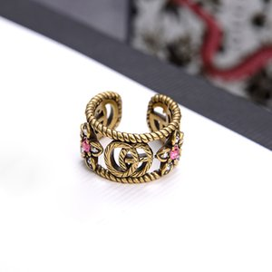 G family 2020 new ring female ins fashion niche design simple personality opening adjustable advanced sense
