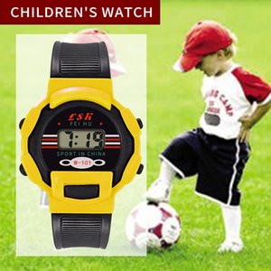 2019 Hot LED Children Watch Girls Analog Digital Sports Electronic Waterproof Wrist Watch New Free Shipping Wd3 sea