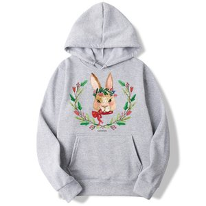 Living For Yourself rabbit Vegan Sweatshirt Men And Women Hoodies Cool Fashion Unisex Tracksuits Moleton Masculino ,