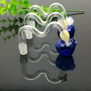 Color apple glass casserole IN STOCK glass pipe bubbler smoking pipe water Glass bong free shipping