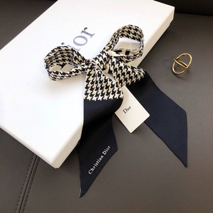 Fashion trend good quality sccarf lady small ribbon original single quality can decorate the bag hair scarf the best gift for women A11025