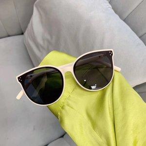 2019 New children's sun ins Web celebrity Tik tok same GM round frame glasses sunglasses rice nail children's sunglasses