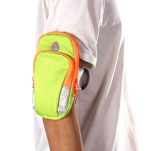 Aolikes Running Jogging GYM Mobile Phone Bag Sports Wrist Bag Arm Outdoor Waterproof Nylon useful Hand