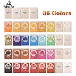 Art Glitter Biutee Mica Poudre Pigment pur 30Color ongles Poudre scintillante perle de résine époxy métallique couleur fard à joues Nail Art