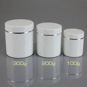 100g 200g 300g Rotating bottle Makeup Jar Pot Refillable Sample bottles Travel Face Cream Lotion Cosmetic Container
