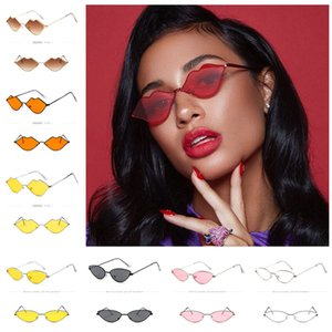 Women Designer Cat Eye Sunglasses Metal Frame Cateye Sun Glasses Retro Vintage Shade Ocean Lens Sunglasses Outdoor Beach Glasses 15 Color