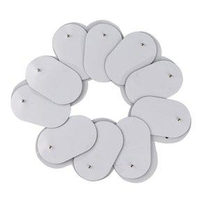 elaxation Treatments 10Pcs Reusable 3.5mm Plug Gel Tens Electrode Pads for Electric Massager Acupuncture Pulse EMS Nerve Muscle Stimulato...