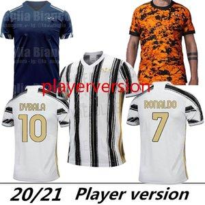 Player versione JUVENTUS maglia da calcio 4 ° PALACE magliette di calcio RONALDO DE Ligt 20 21 Dybala D.COSTA JUVE quarto uomo T uniformi 2020 2021