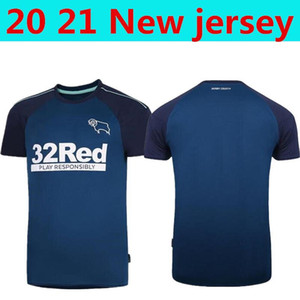 2020 21 Derby County Soccer Jersey 2021 #7 PATERSON #10 LAWRENCE DOWELL Uniforms Mens #32 ROONEY WAGHORN MARRIOTT Football Shirts