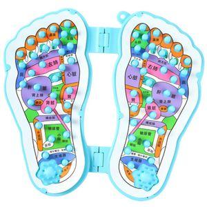 1pair Pé ponto massagem Pad sangue Pés Mat Circulation Saúde Relax aliviar a fadiga Cuidados Placa Homedics Shiatsu Massager do pé