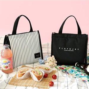 Nouveau mode Mini Daily Lunch Bag pique-nique Isolation Outing Sac Portable Déjeuner Sac Boîte à lunch glace en gros