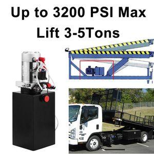 pompa Trailer 4 Quart 12V elettrico forza idraulica a doppio effetto Power-Up Supply Unit per Dumper Quart doppio effetto
